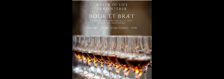 Book ét Bræt - Nyt koncept hos Water of Life